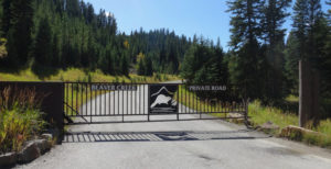Gate At Beaver Creek Big Sky